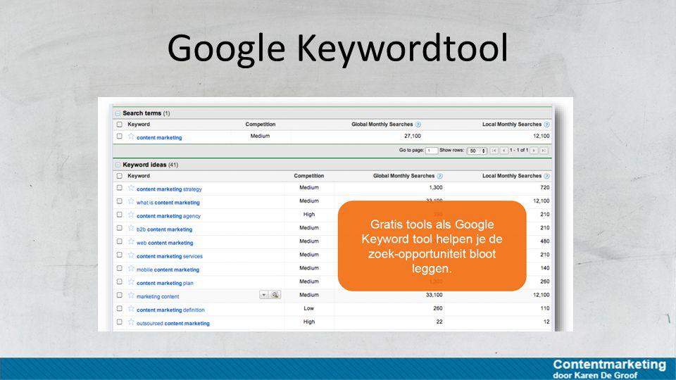 Google Keywordtool