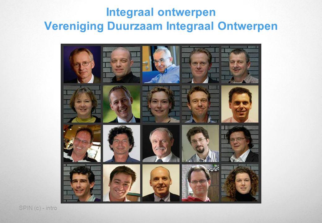 SPIN (c) - intro Integraal ontwerpen Vereniging Duurzaam Integraal Ontwerpen