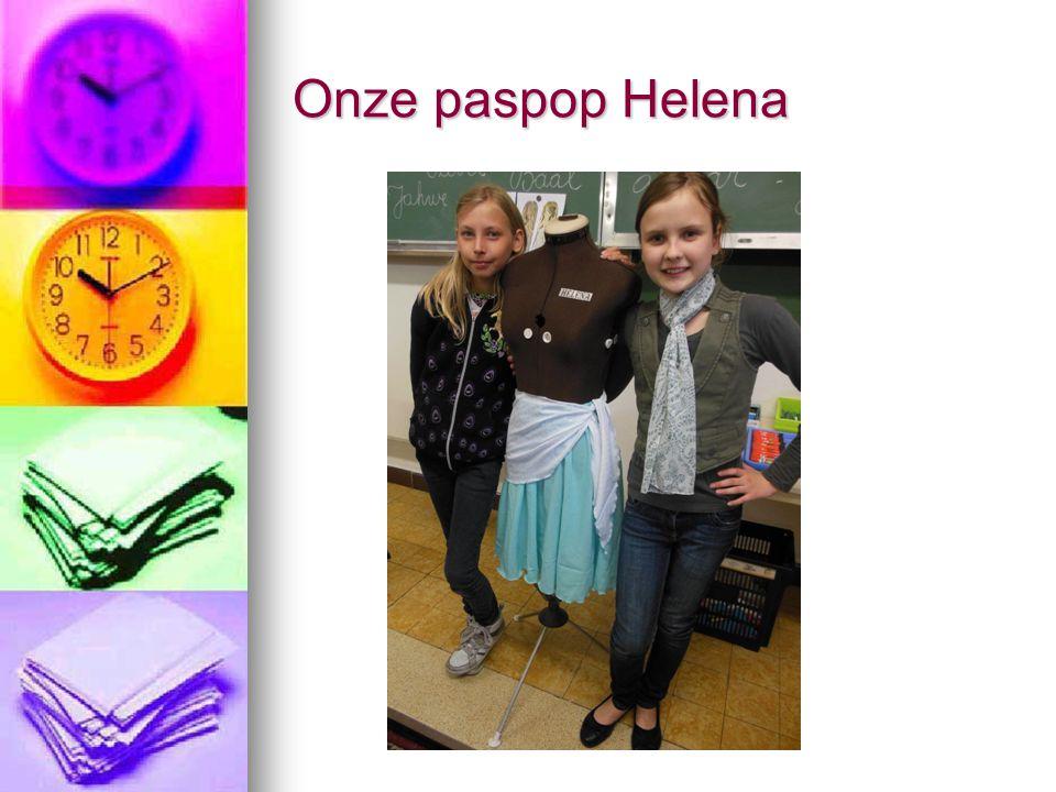 Onze paspop Helena