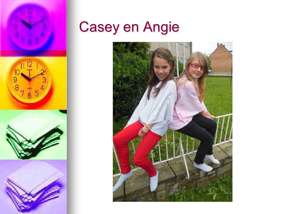 Casey en Angie