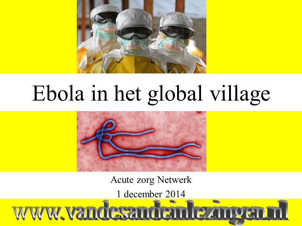 ebola Massaverschijnselen