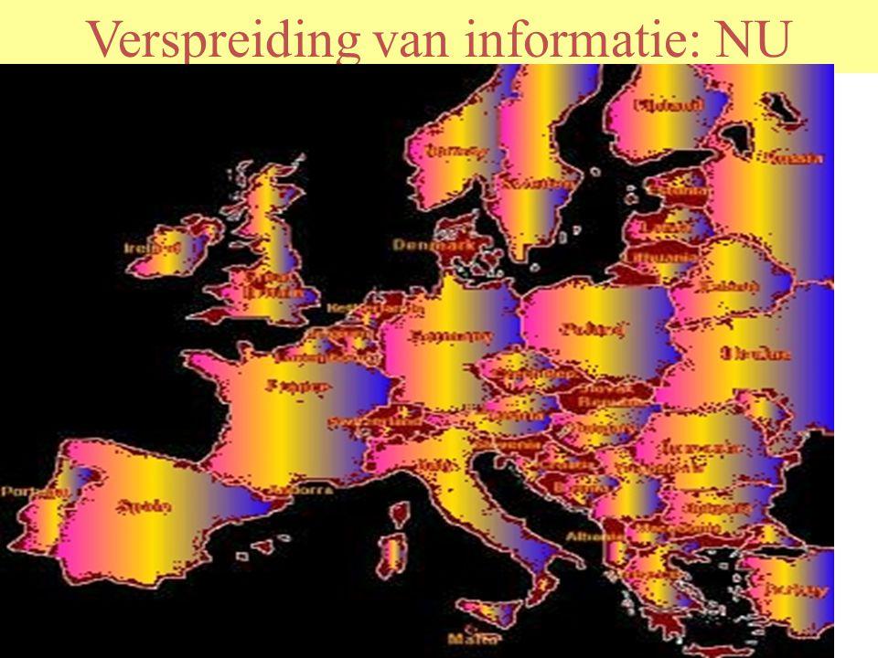 Verspreiding van informatie: NU