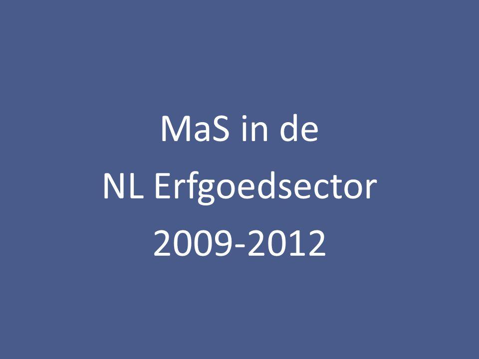 MaS in de NL Erfgoedsector 2009-2012