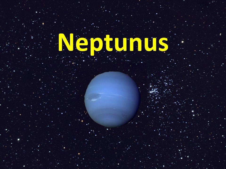 Storm Neptunus is een gasplaneet.De planeet heeft grote, donkere vlekken.