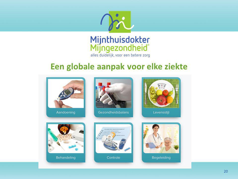 20 Een globale aanpak voor elke ziekte