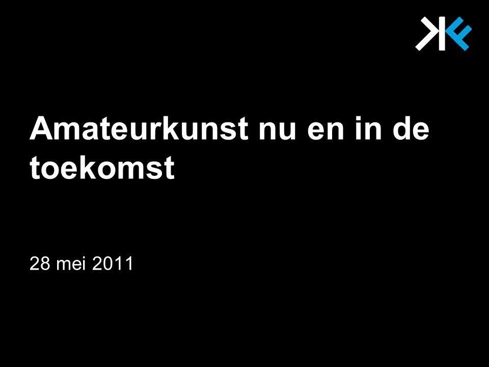 Kunstfactor Sectorinstituut amateurkunst Missie Visie Kerntaken Hoofdlijnen beleid 28 mei 2011