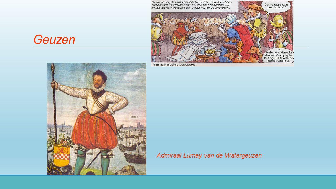 Geuzen Admiraal Lumey van de Watergeuzen