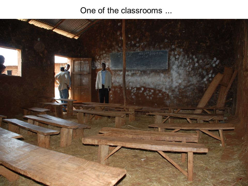 One of the classrooms...
