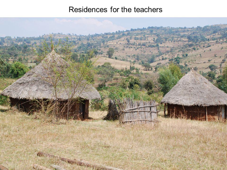 Residences for the teachers