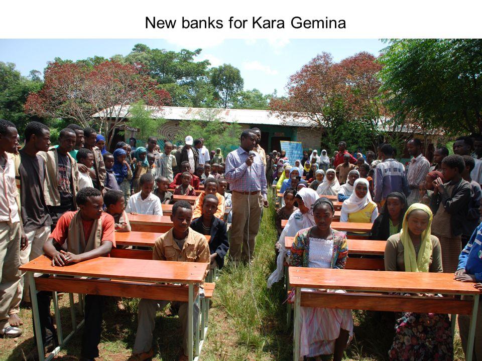 New banks for Kara Gemina