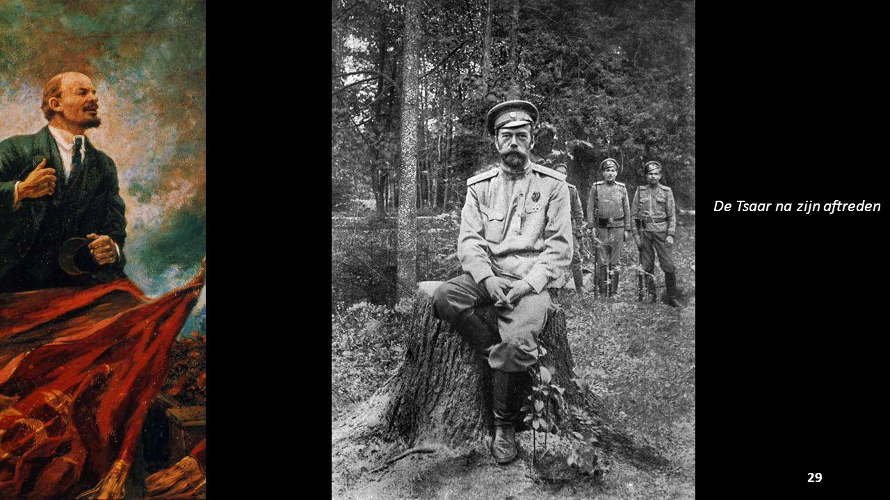 29 De Tsaar na zijn aftreden