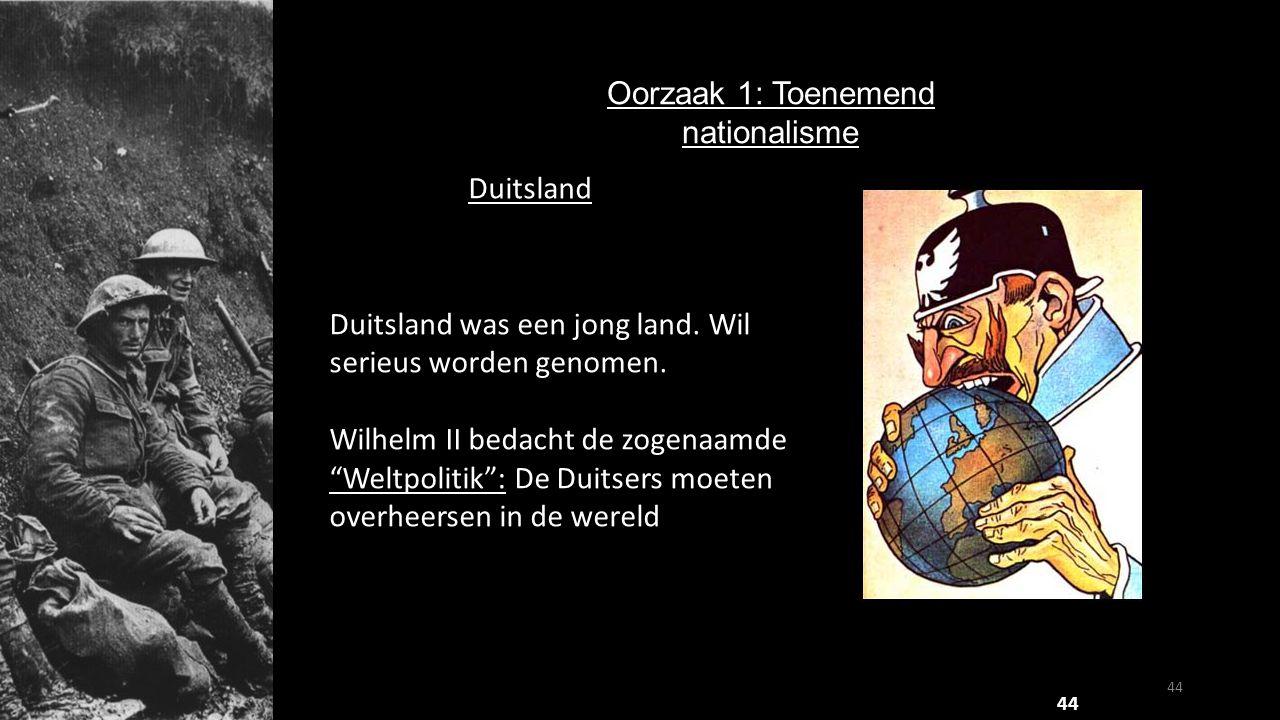 """Duitsland Duitsland was een jong land. Wil serieus worden genomen. Wilhelm II bedacht de zogenaamde """"Weltpolitik"""": De Duitsers moeten overheersen in d"""