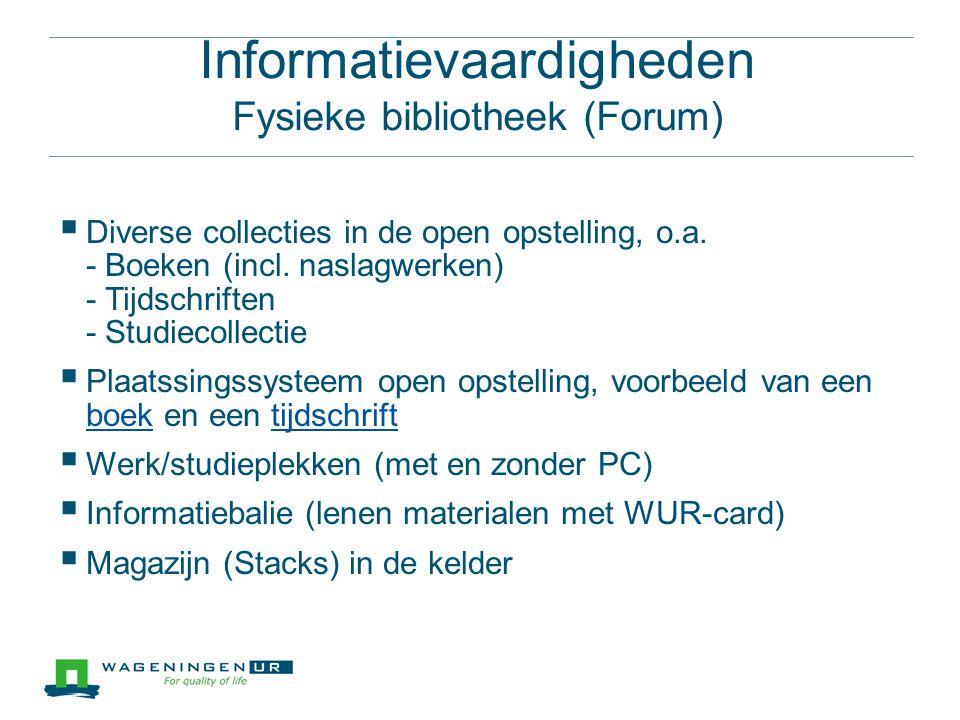  Diverse collecties in de open opstelling, o.a. - Boeken (incl.