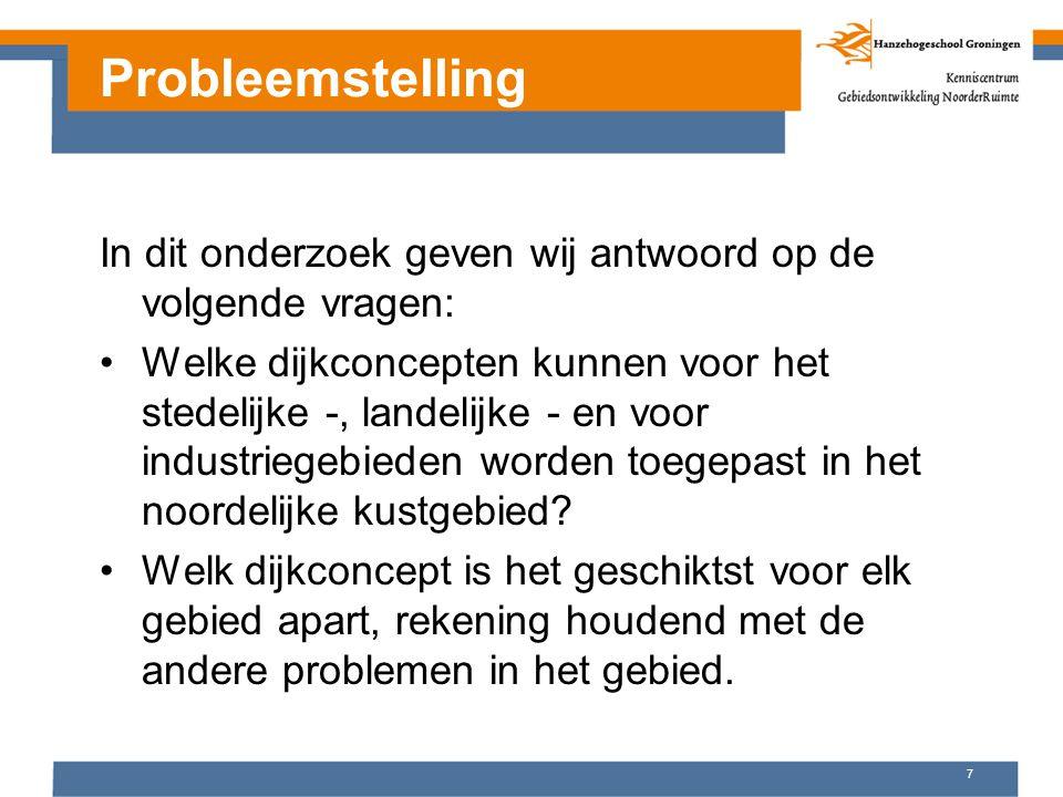 8 Onderzoeksvragen Valkenburg Onderzoeksvragen formuleren: Niet te globaal Hoe komt het ….