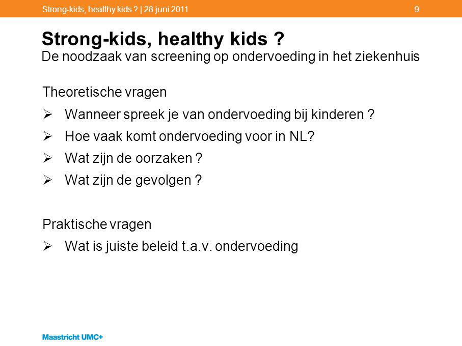 Strong-kids, healthy kids .