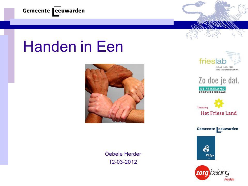 Handen in Een Oebele Herder 12-03-2012