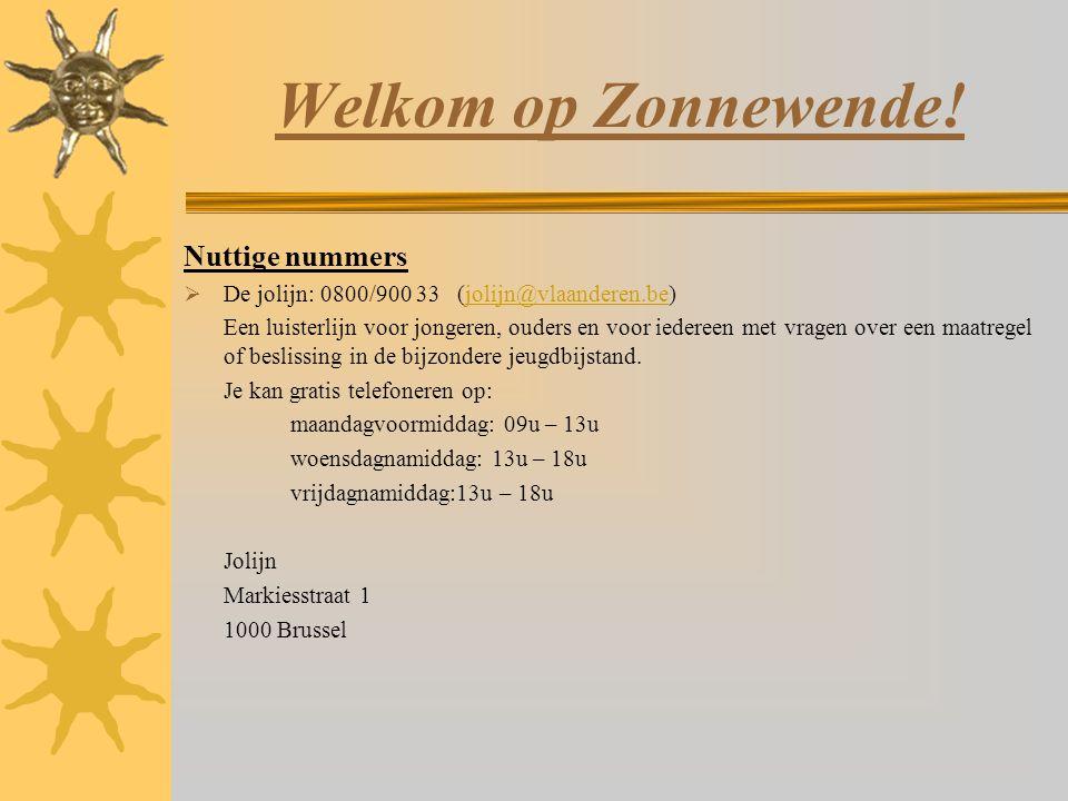 Welkom op Zonnewende.