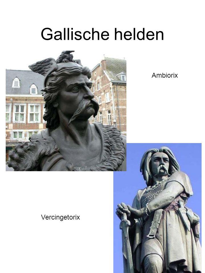 Gallische helden Ambiorix Vercingetorix