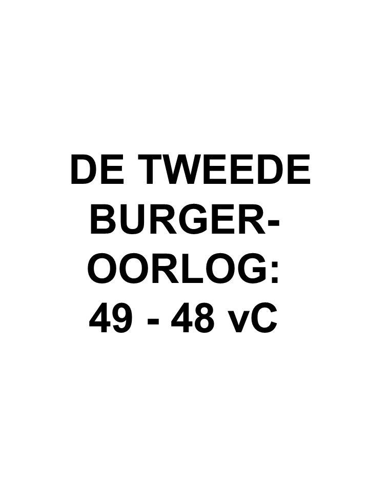 DE TWEEDE BURGER- OORLOG: 49 - 48 vC
