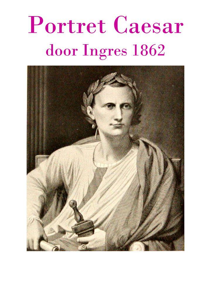 Portret Caesar door Ingres 1862