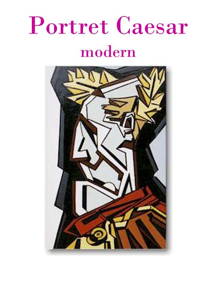 Portret Caesar modern