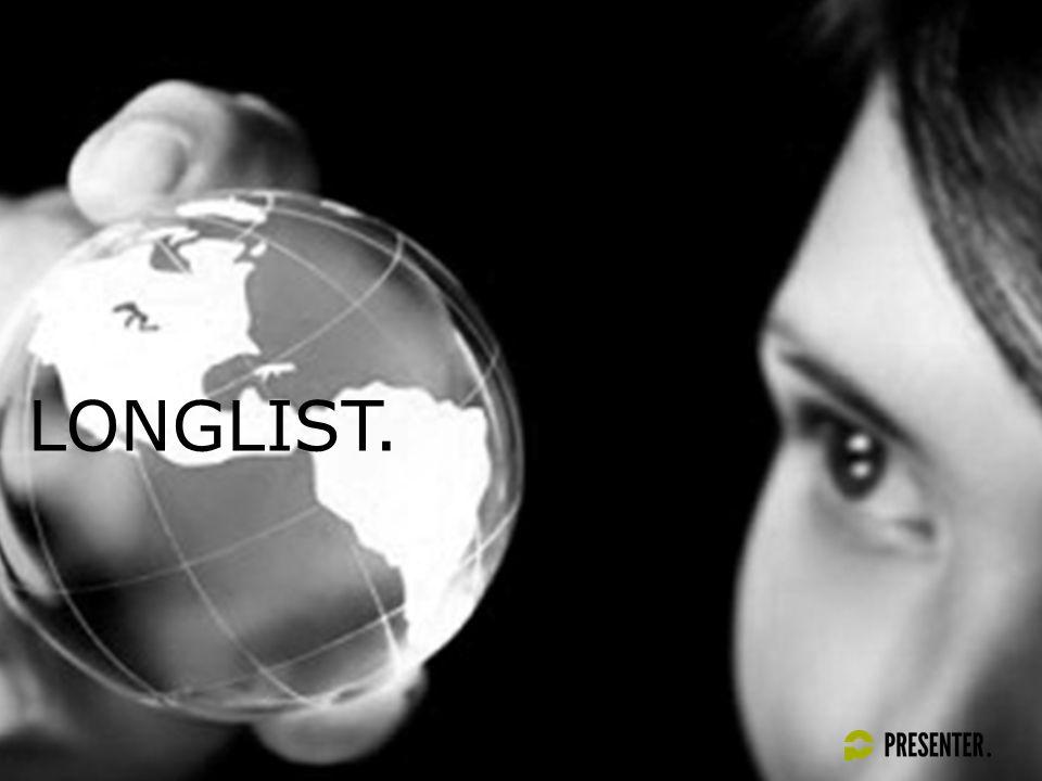 LONGLIST.