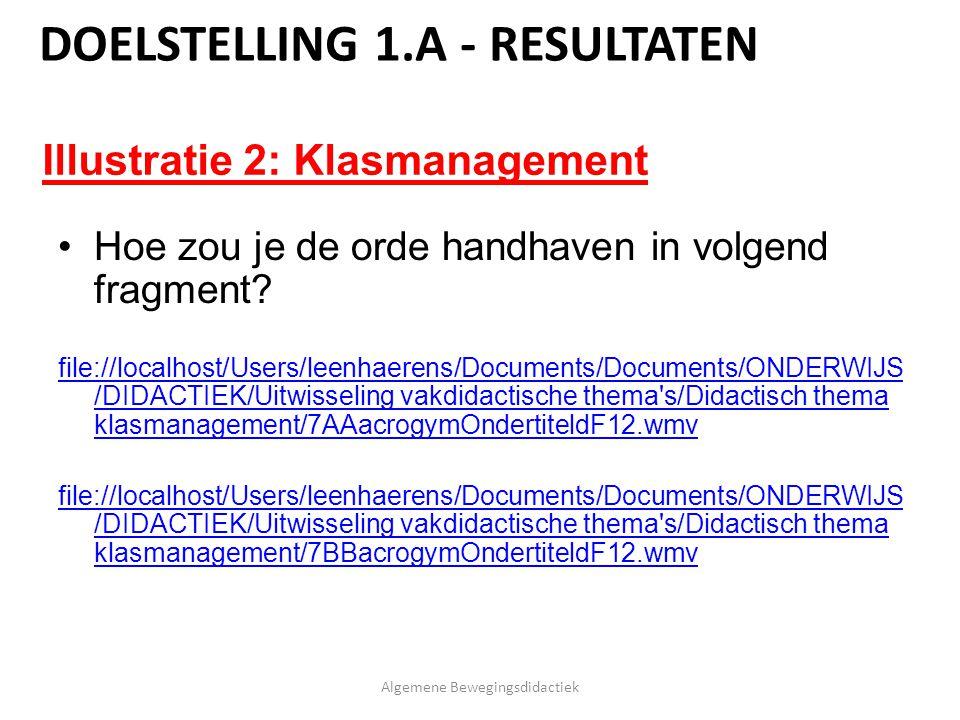 Hoe zou je de orde handhaven in volgend fragment? file://localhost/Users/leenhaerens/Documents/Documents/ONDERWIJS /DIDACTIEK/Uitwisseling vakdidactis