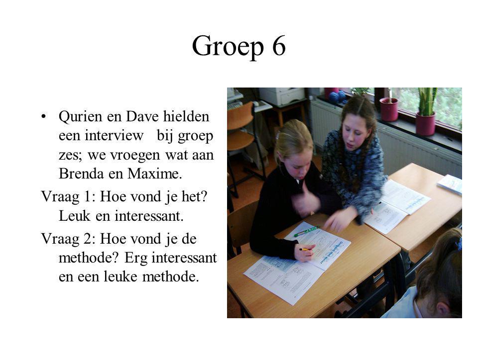 Groep 6: video- werkboekje Hier zie je de kinderen die aan het werk zijn in het werkboekje. Het was interessant om te weten hoe en wat water allemaal