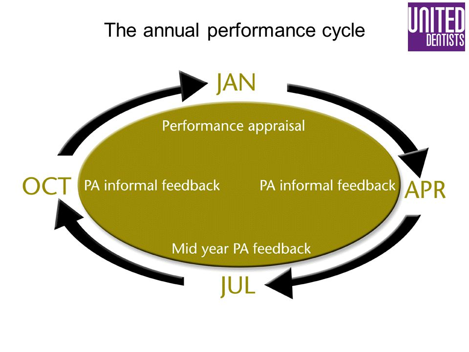 The annual performance cycle