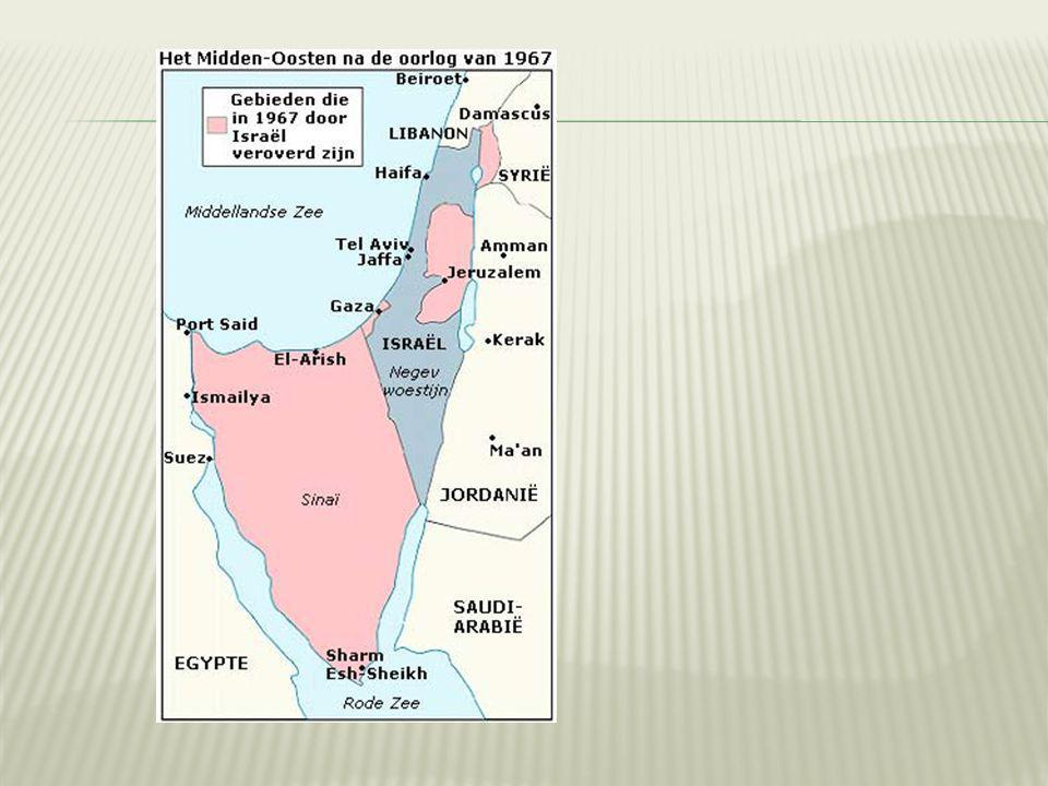  6 oktober 1973:  Yom Kipoeroorlog  Egypte en Syrië vallen Israël aan.