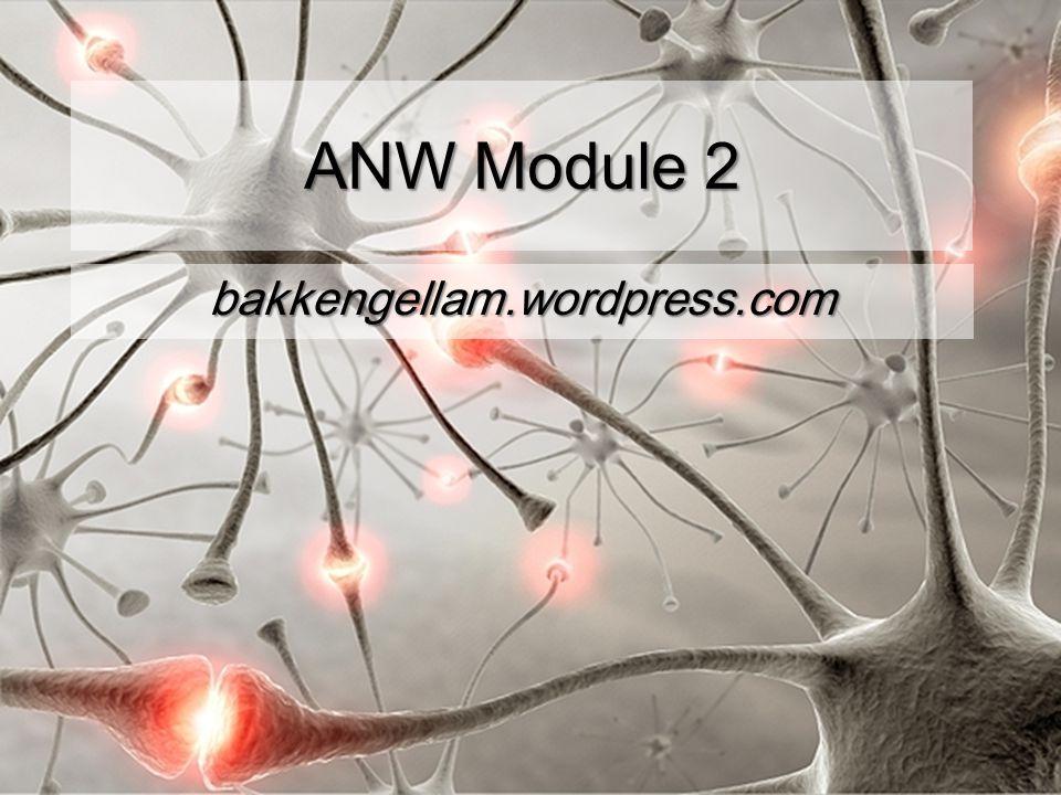 ANW Module 2 bakkengellam.wordpress.com