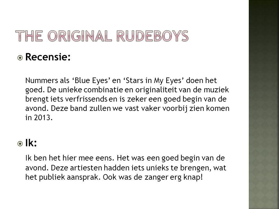  Recensie: Nummers als 'Blue Eyes' en 'Stars in My Eyes' doen het goed.