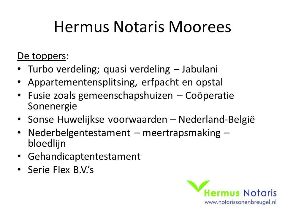 Hermus Notaris Moorees De toppers: Turbo verdeling; quasi verdeling – Jabulani Appartementensplitsing, erfpacht en opstal Fusie zoals gemeenschapshuiz