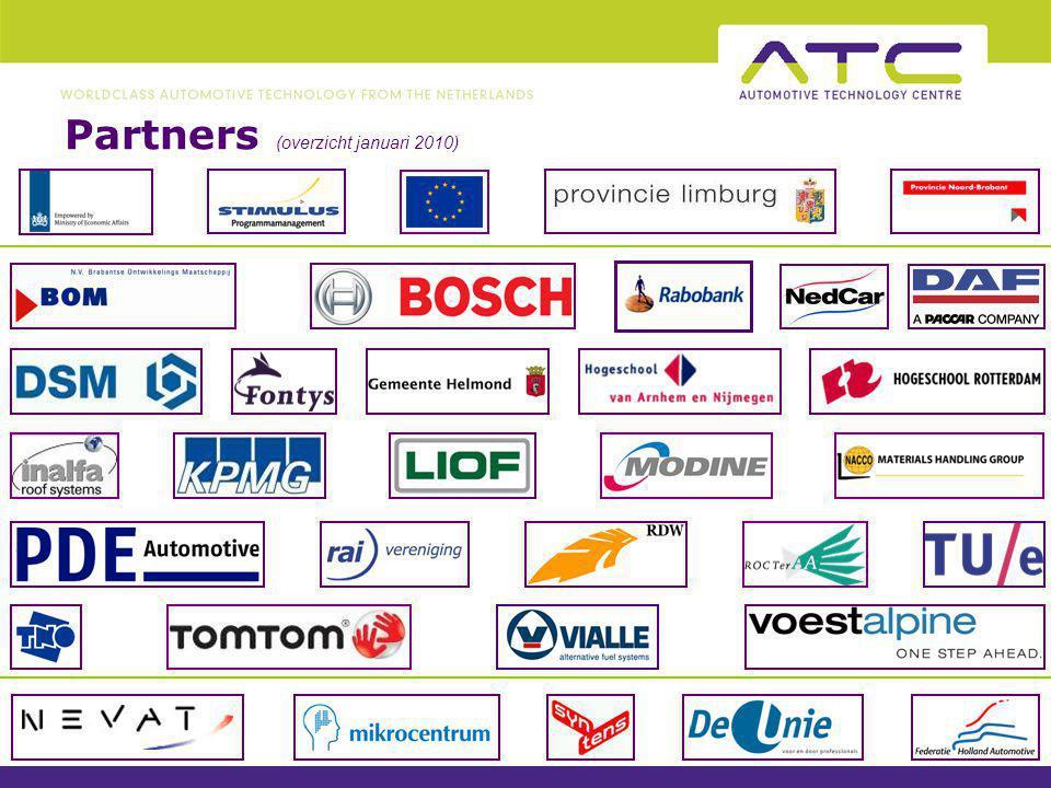 Partners (overzicht januari 2010)