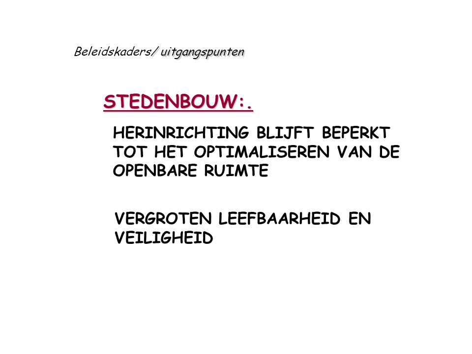 STEDENBOUW:.