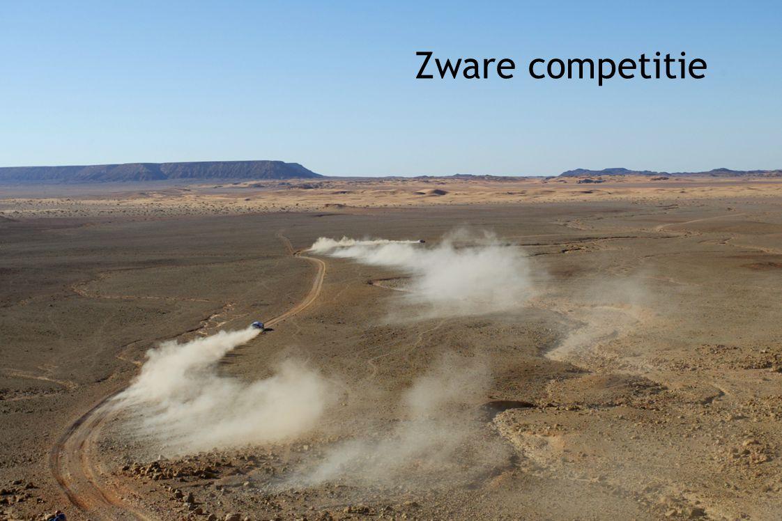 Zware competitie