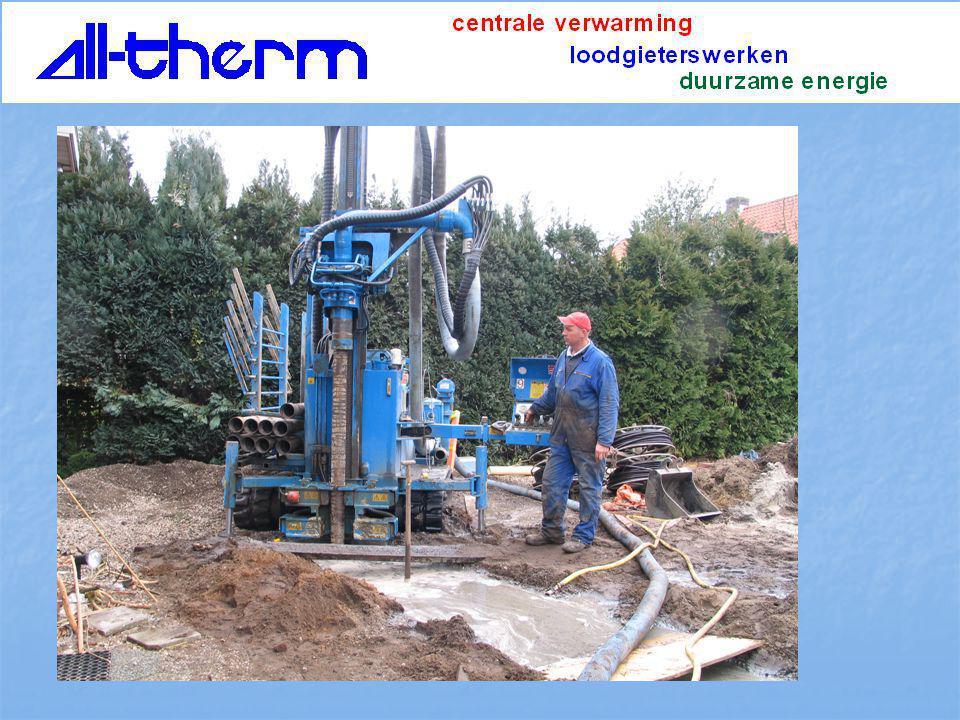 Watmtepomp water/water of brijn/ water geothermische warmte