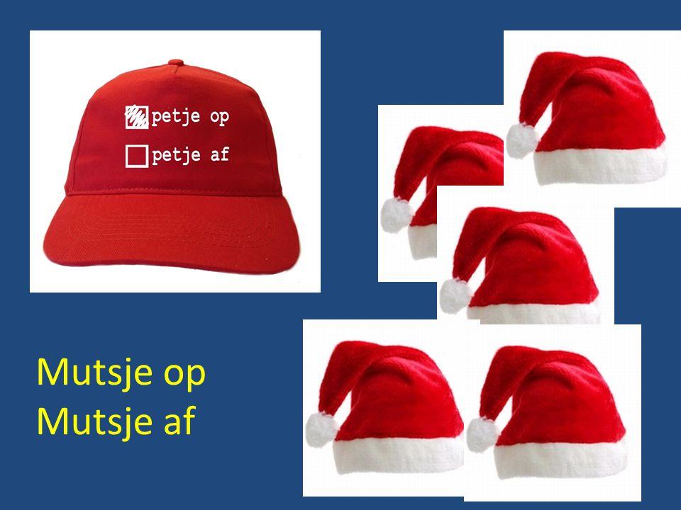 BZR Kerstquiz: Vraag 13 Muts op: Amersfoort Muts af: Apeldoorn