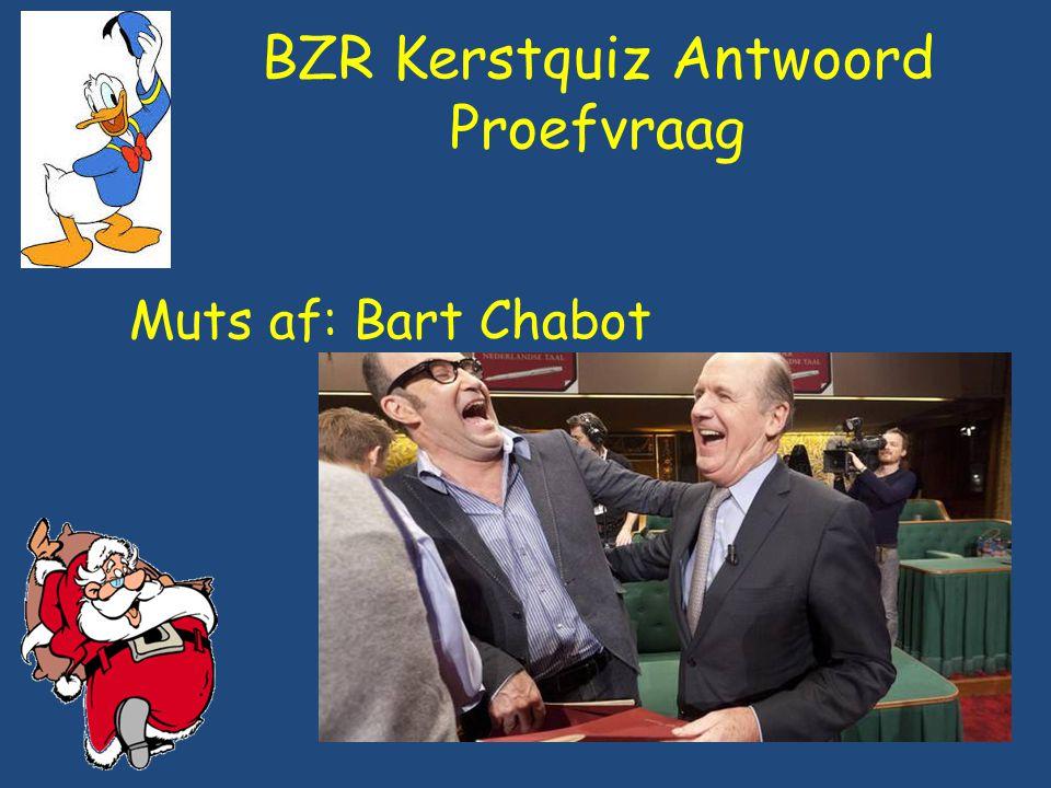 BZR Kerstquiz: Vraag 1 Het Eurovisie Songfestival werd dit jaar gewonnen door Oostenrijk.