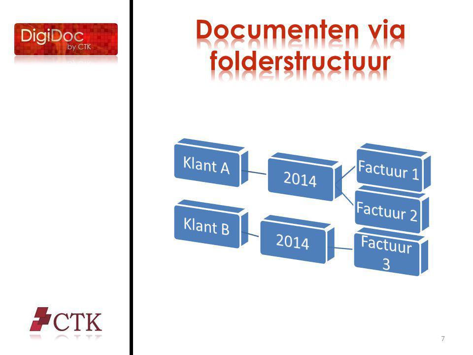 18 Bresstraat 4-6 2018 Antwerpen +32 3 289 34 20 www.ctk.be www.digidoc.be Info@ctk.be Vragen?