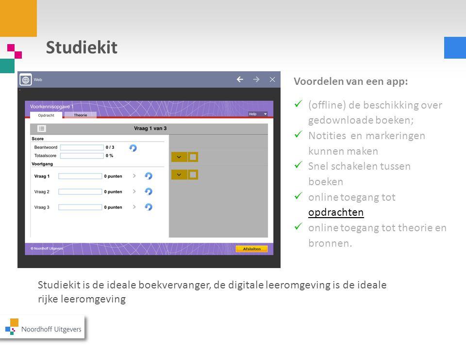 Toekomstontwikkelingen  Moderne Wiskunde 11 e editie en Getal & Ruimte 11 e editie zijn volledig interactief te gebruiken op de tablet.