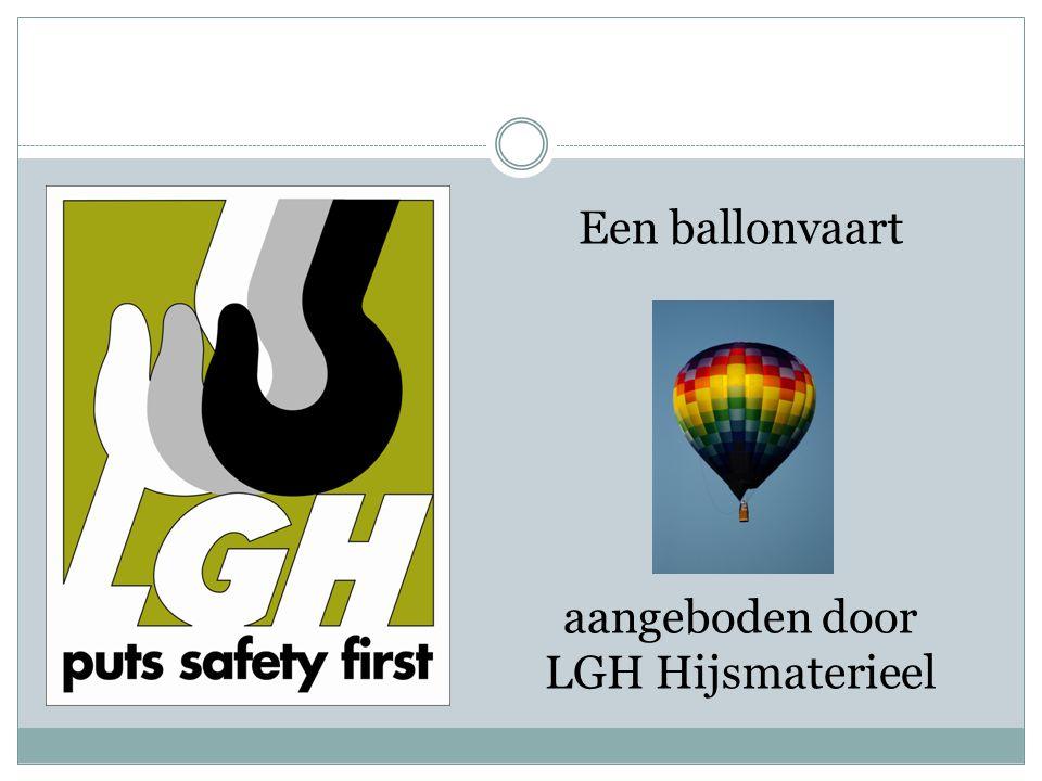 Een ballonvaart aangeboden door LGH Hijsmaterieel