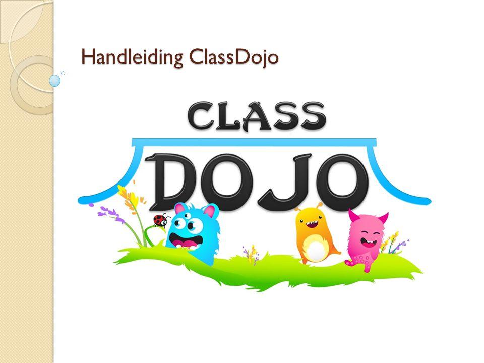 Handleiding ClassDojo
