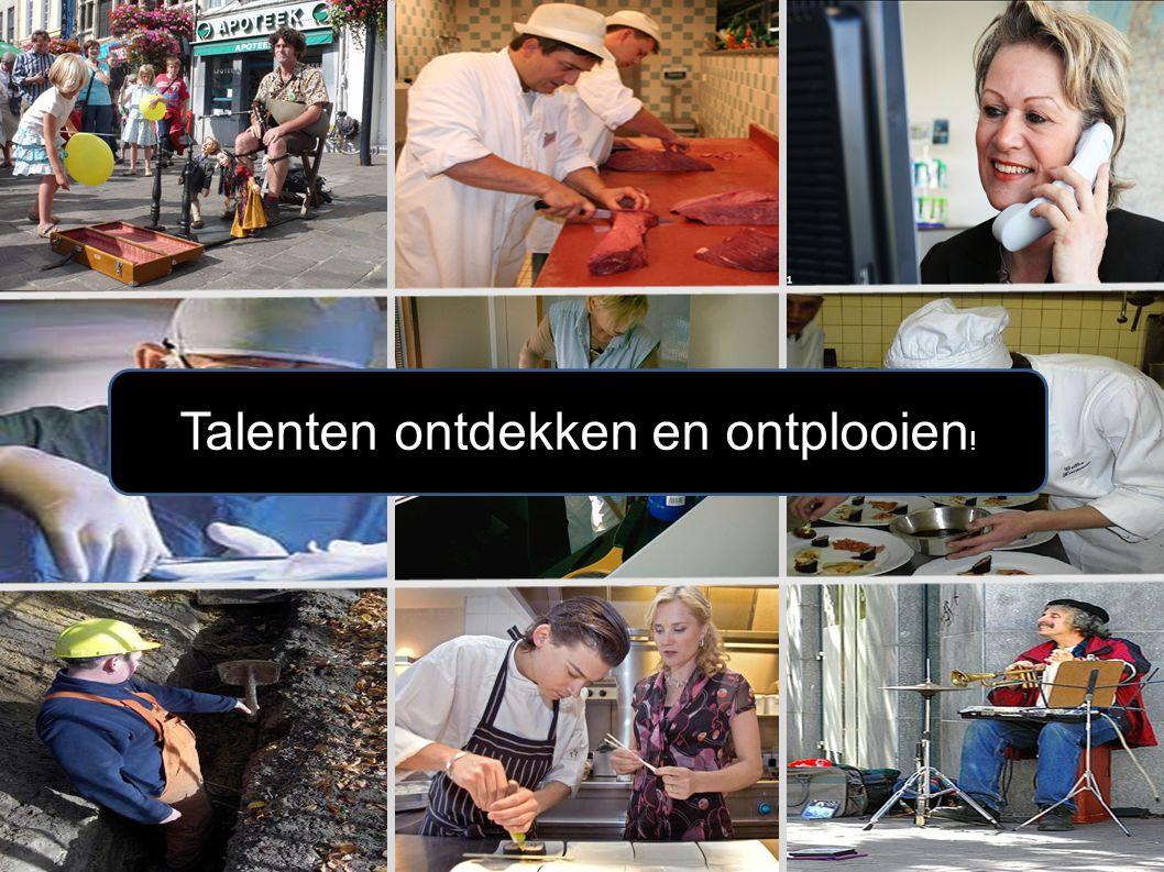 Talenten ontdekken en ontplooien !