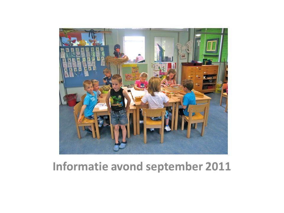 Informatie avond september 2011
