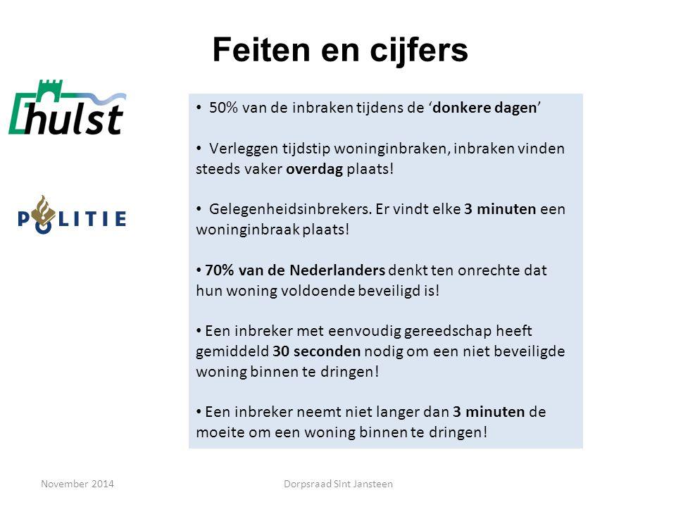November 2014 Brand preventie Bewustwording brandveiligheid vergroten Wat kan de bewoner zelf doen.