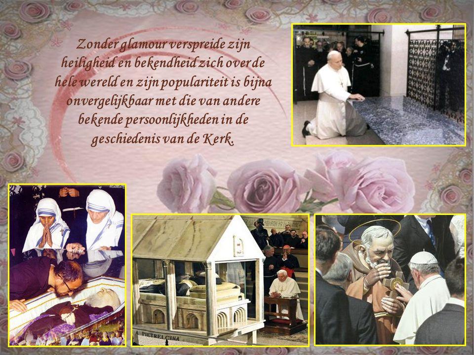 Pater Pio was het middelpunt van vele bovennatuurlijke gebeurtenissen en signalen,die nog steeds appelleren en een stempel drukken, verbazen, schokken