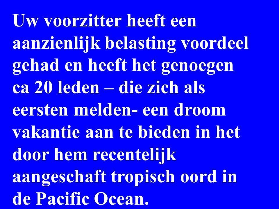 Pacific ocean Onderkomen voor de gasten Dit is het huis