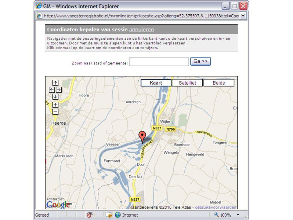 www.vangstenregistratie.nl