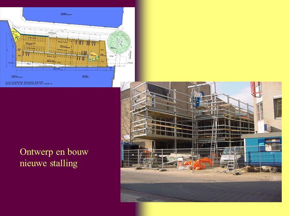 Ontwerp en bouw nieuwe stalling